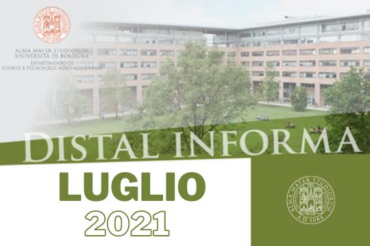 Newsletter DISTAL informa Luglio 2021