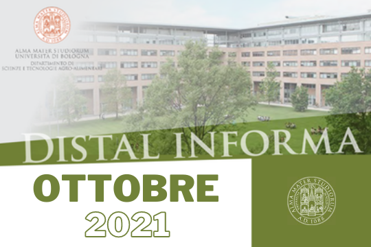 Newsletter DISTAL informa Ottobre 2021